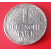 Lote 104 Moneda Alemania ( Rep. Federal ) 1mark 1950 G