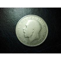 Reino Unido Un Shilling 1923 Plata