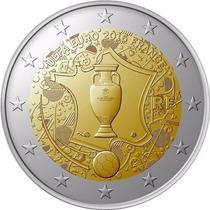 Moneda Eurocopa Francia 2016 ( Futbol, Football Soccer )