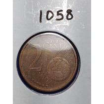 1058- Moneda De 2 Centavos Euro De 2002, Italia