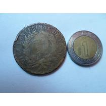 Moneda 10 Centésimos 1891 República Dominicana Escasa