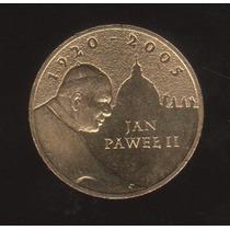Moneda De Polonia Del Santo Padre Juan Pablo 2do