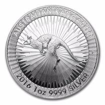 Australia, 2016 1 Onza Plata Pura .9999 Canguro.