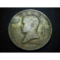 Filipinas 1 Piso Fecha 1972 Niquel 33mm