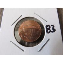 #83 Moneda Del Mundo One Cent Usa 2010