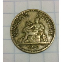 Moneda Francia 1 Franco 1927