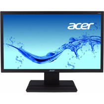 Monitor Acer 19.5 Led V206hql Negro Piano