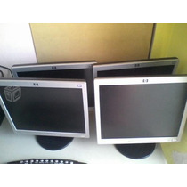 Monitores 15´´ Y 17´´ Dell Hp Ctl Usados