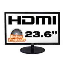 Monitor Led 24 Pulgadas Slim Hdmi Vga Bocinas