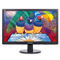 Monitor Led 18.5 Viewsonic Va1917a Vga 5ms Negro+c+