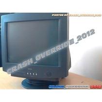 Monitor Crt De 15 Dell Negro Modelo E551