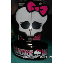 Monster High Alhajero Joyero Espejo Plegable Calavera Vv4