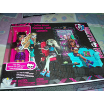 Monster High Cafeteria Clawdeen Nueva Op4