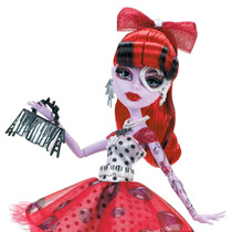 Monster High Operetta Blue Dot Dead Gorgeous