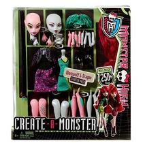 Monster High Crea Tu Loba Y Dragon Set Grande
