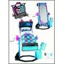 Monster High, Cama Espejo Frankie, Mattel, Original