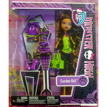 Monster High Set De Muneca Y Ropa De Clawdeen Wolf