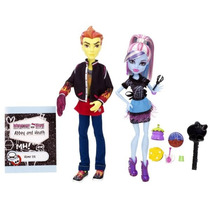 Monster High - Paquete De Heath Burns Y Abbey Abominable