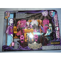 Monster High,set De Dj, Mattel, Hermoso!!