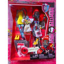 Monster High Set De Muneca Wydouna Arana