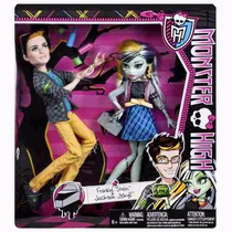 Monster High Paq. De 2 Frankie Stein Y Jackson