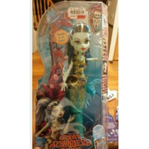 Monster High Frankie Stein Gran Arrecife Moustroso