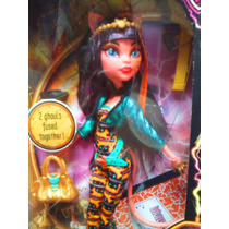 Monster High Muneca Fusion Toralei Y Cleo De Nile