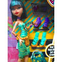 Monster High Muneca Cleo De Nile Con Zapatos