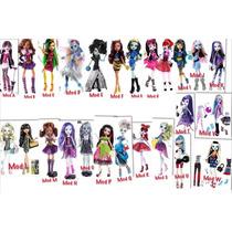 Remate Monster High Gran Surtido Gigi Twila Skelitacatty Fn4