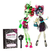 Monster High Rochelle Goyle And Venus Mcflytrap Set De 2