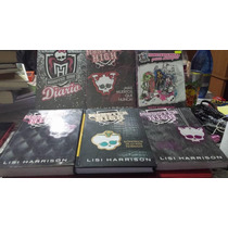 Monster High, Libros 1,2,3,diario,4, Amigas Combo Vbf