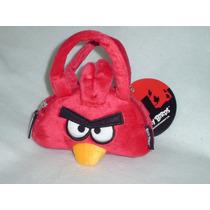 Bolsa De Mano Angry Birds Rojo Original