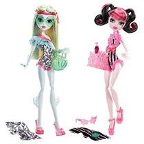 Regalos Maven: Monster High Draculaura Swim Doll Con Lagoona