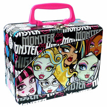 Lonchera Metalica, Botella Y Contenedor Monster High