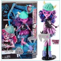 Monster High Kjersti Trollson Hija Del Troll Mattel 2016