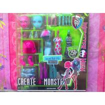 Monster High Crea Tu Chica Ice Y Chicas Blob Set Grande