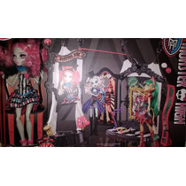 Circo Monstruoso Monster High Circo Monstruoso Rochelle Goyl