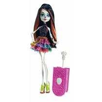 Skelita Calaveras Monster High Muñeca Primera Edicion