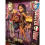 Monster High Dúo Scaris Lagoona Blue Y Cleo 1a. Edición !!!