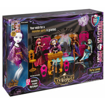 Spectra 13 Deseos Draculaura Clawdeen Ghoulia Monster High