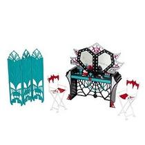 Monster High Sustos Cámara De La Acción! Vestidor Playset