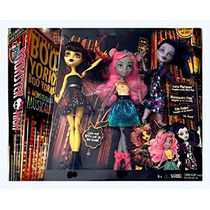 Monster High Boo Boo York York 3 Pack Doll Set Luna Mothews