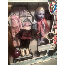 Monster High Abby, Frankie,scarah, Tres Cambios De Ropa