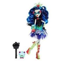 Monster High Dulce Gritos - Ghoulia Aullidos Muñeca De Matte