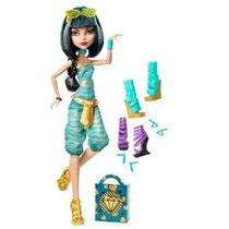 Monster High Cleo De Nile Muñeca Y Shoe Collection
