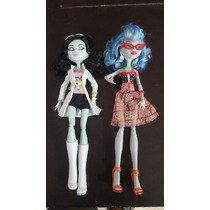 Monster High Scarah Screams, Ghoulia Precio X C/u