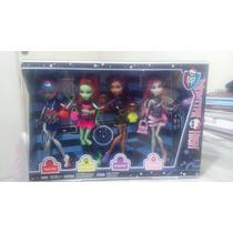 Paquete De Muñecas Monster High Edición Scaris
