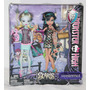 Monster High Scaris, Mad Science Cleo Ghoulia Lagoona Abbey