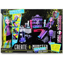 Monster High Create A Monster Cámara De Diseño