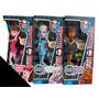 Monster High Dead Tired Serie De 3 Muñecas Diferentes